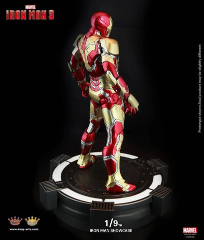 (KING ARTS) 1/9 IRON MAN SHOWCASE