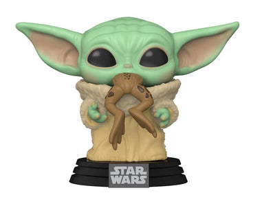 (Funko Pop) POP STAR WARS: MANDALORIAN - THE CHILD WITH FROG
