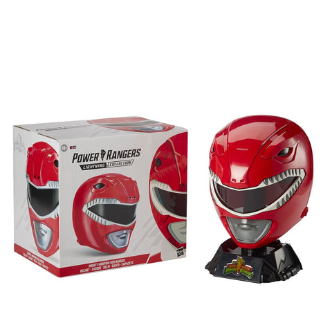 (Hasbro) Power Rangers Collection Premium Red Ranger Helmet Prop Replica