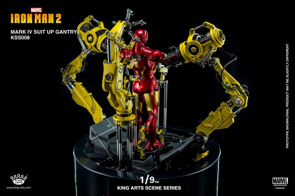 (KING ARTS) 1/9 IRONMAN MKIV GANTRY #008