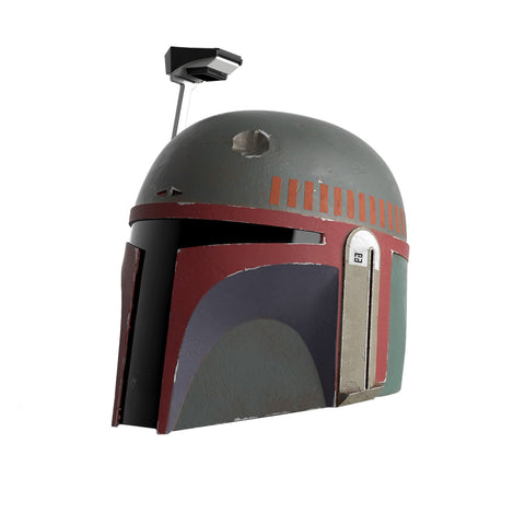 (Hasbro) (Pre-Order) Star Wars The Black Series Boba Fett (Re-Armored) Premium Electronic Helmet - Deposit Only