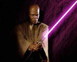 (Hasbro) Star Wars The Black Series Mace Windu Ep3 Force FX Lightsaber