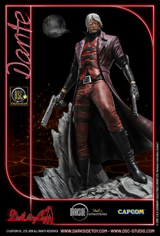 Image of Dante Devil May Cry 1 Premium Statue by Darkside Collectibles Studio (Pre-Orders) - Deposit Only