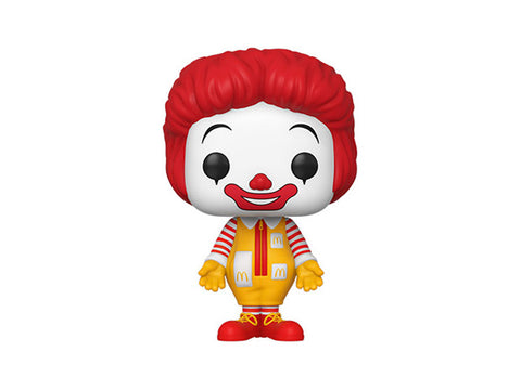 (Funko Pop) POP AD ICONS: MC DONALD'S – RONALD MCDONALD with Free Protector