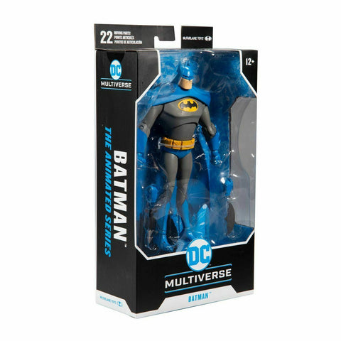 Image of (McFarlane) DC WV2 ANIMATED BATMAN VARIANT BLUE/GRAY