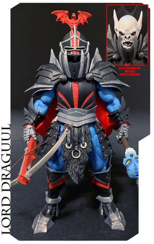 Image of (Mythic Legions) LORD DRAGUUL