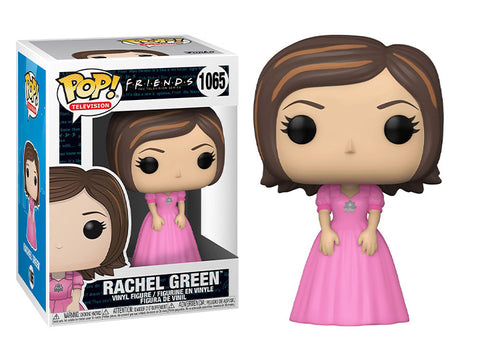 (Funko) Pop! TV: Friends - Rachel Green (Pink Dress) with Free Boss Protector