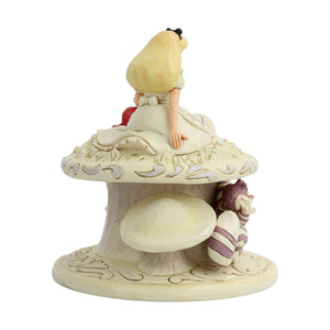 "(ENESCO) (Pre-Order) Disney Traditions: Alice White Woodland ""Whimsy and Wonder"" - Deposit Only"