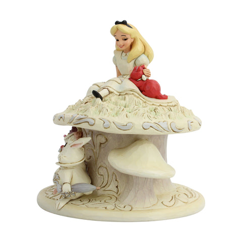 "Image of (ENESCO) (Pre-Order) Disney Traditions: Alice White Woodland ""Whimsy and Wonder"" - Deposit Only"