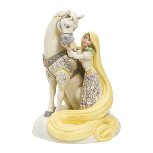 "(ENESCO) (Pre-Order) Disney Traditions: Rapunzel White Woodland ""Innocent Ingenue"" - Deposit Only"