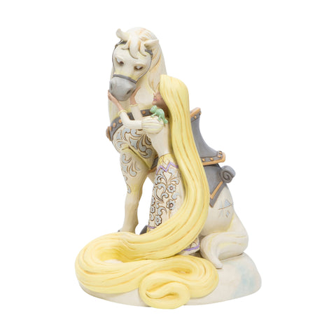 "Image of (ENESCO) (Pre-Order) Disney Traditions: Rapunzel White Woodland ""Innocent Ingenue"" - Deposit Only"