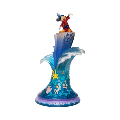 "Image of (ENESCO) (Pre-Order) Disney Traditions: Sorcerer's Apprentice Mickey ""Summit of Imagination"" (18.5 Inches) - Deposit Only"