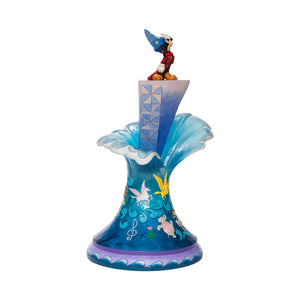 "(ENESCO) (Pre-Order) Disney Traditions: Sorcerer's Apprentice Mickey ""Summit of Imagination"" (18.5 Inches) - Deposit Only"