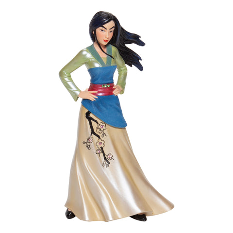 Image of (Enesco) Disney Showcase Collection Couture De Force MULAN (2020)