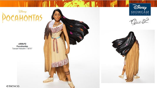 (Enesco) (Pre-Order) Disney Showcase Collection:  Pocahontas Couture de Force - Deposit Only