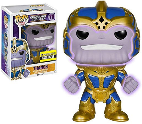 (Funko Pop) (Pre-Order) Guardians of the Galaxy Thanos Glow-in-the-Dark 6-Inch Pop! Vinyl Bobble Head Figure - Deposit Only