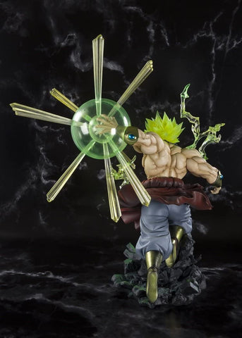 Image of (Bandai) (Pre-Order) Figuarts ZERO SUPER SAIYAN BROLY-THE BURNING BATTLE- -Event Exclusive Color Edition- + DRAGON STARS (RANDOM)  - Deposit Only