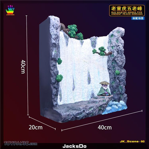 Image of (JacksDo) (Pre-Order) Old Master Dohko Five Ancient Peaks Diorama - Deposit Only