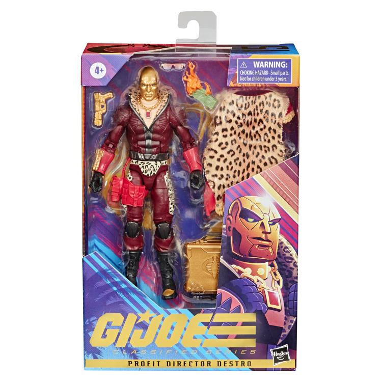 (Hasbro) (Pre-Order) GI JOE Classified Collection Profit Director Destro 6 Inch Action Figure - Deposit Only