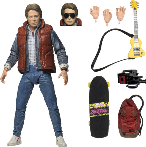 (NECA) Back to the Future – 7inch Scale Action Figure – Ultimate Marty
