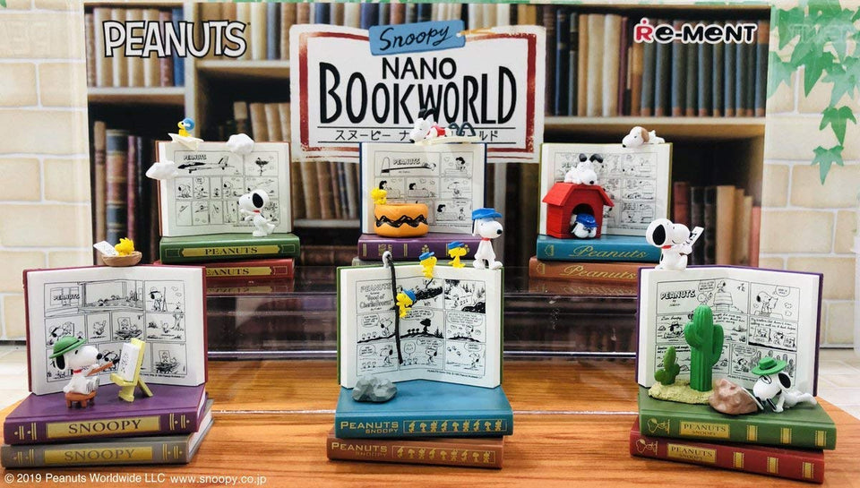(RE-MENT) SNOOPY BOOK FIGURE