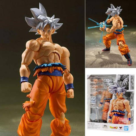 Image of Bandai S.H.Figuarts Dragon Ball Super - Son Goku Ultra Instinct Action Figure