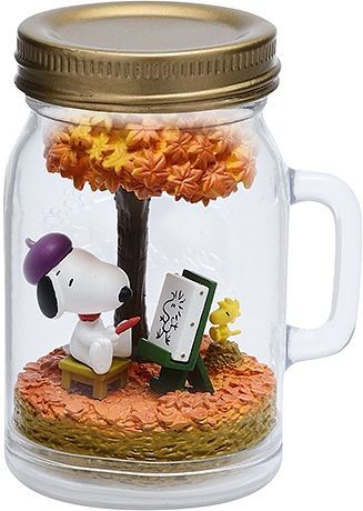 (RE-MENT) SNOOPY TERRARIUM ON VACATION