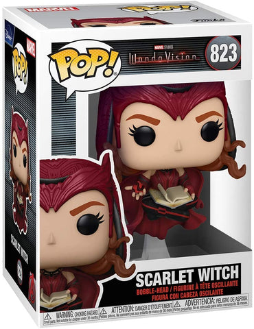 (Funko Pop) Funko Pop! Marvel Wandavision - The Scarlet Witch with Free Boss Protector