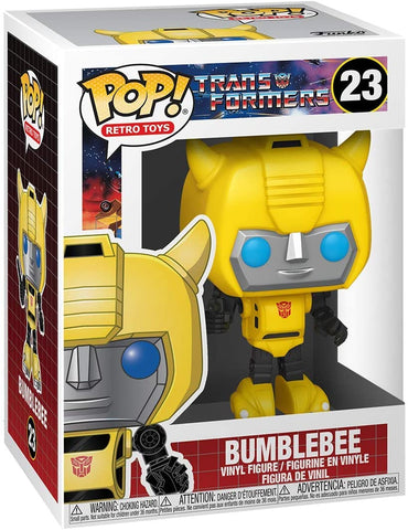 (Funko Pop) POP VINYL: TRANSFORMERS - BUMBLEBEE with Free Boss Protector