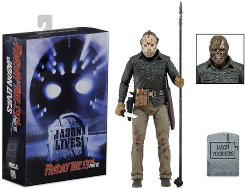 (Neca) Friday the 13th Part 6  - 7-inch Action Figure - Ultimate Jason