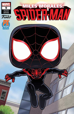 (Funko) Spider-Man Into the Spider-Verse - Miles Morales Comic Book
