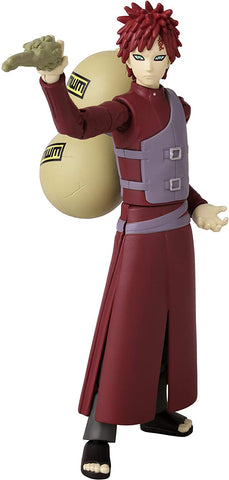 "Image of (Bandai) Anime Heroes Naruto Gaara 6.5"" Action Figure"