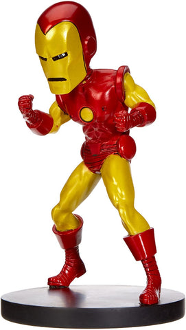 NECA Marvel Classic Head Knocker Iron Man Toy