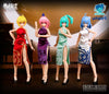 (Yolopark) (Pre-Order) Four Mytical Beasts Qipao Accessories Set - Deposit Only