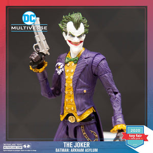 "(McFarlane) DC GAMING 7"" ACTION FIGURES - WV1 - ARKHAM ASYLUM JOKER"