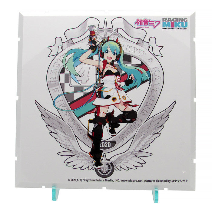 (Good Smile Company) (Dioramansion 150)  Racing Miku 2020 Ver. Pit Optional Panel  (Key Visual F) (Pre-Order) - Deposit Only