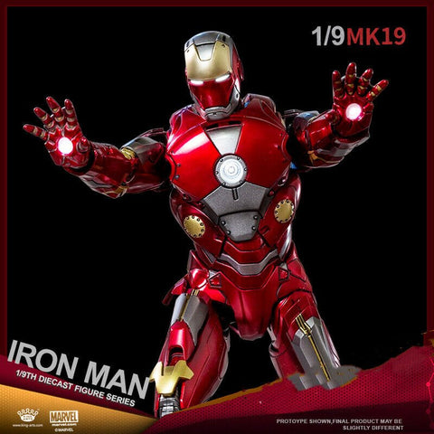(King Arts) (Pre-Order) Iron Man Mark 19 - 1/9 Scale Diecast Figure DFS049 - Deposit Only