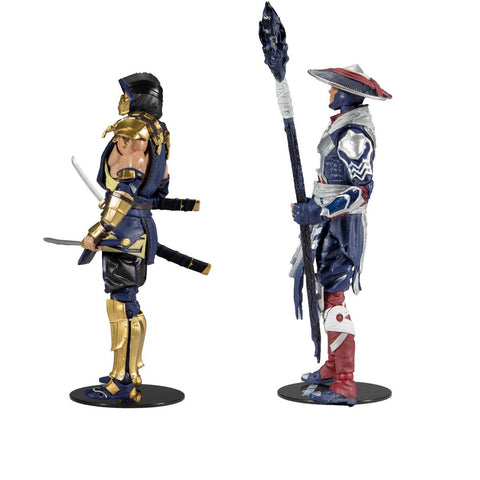 (McFarlane) (Pre-Order) Mortal Kombat Scorpion and Raiden 7-Inch Action Figure 2-Pack - Deposit Only
