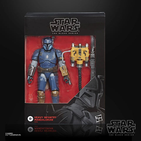 Image of (Hasbro) (Pre-Order) Heavy Infantry Mandalorian Star Wars Black Series - Deposit Only