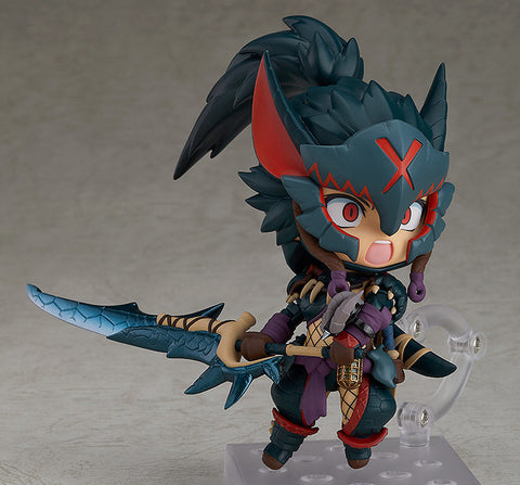Image of (Kotobukiya) Nendoroid Hunter: Female Nargacuga Alpha Armor Ver. DX (Pre-Order) - Deposit Only