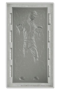 (Kotobukiya) Star Wars Han Solo In Carbonite Dx Silicone Ice Tray