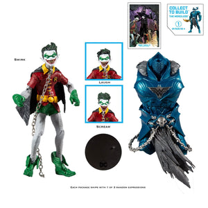 "(McFarlane) DC Multiverse BUILD-A - 7"" WAVE 2 - ROBIN CROW"