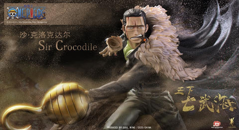 (Soul Wing) (Pre-Order) 1/4 One Piece Sir Crocodile - Deposit Only