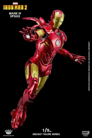 (King Arts) Iron Man Mark IV 1/9 Scale Figure DFS022