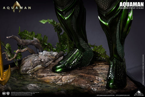 (Queen Studios) Aquaman 1/2 Scale Collectible Statue