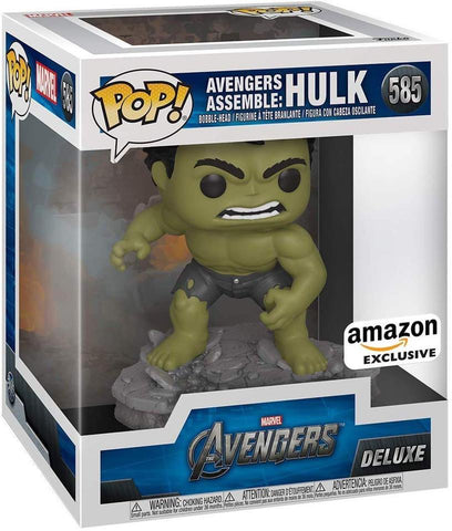 Image of (Funko Pop) (Pre-Order) Avengers Assemble Hulk Deluxe Amazon Exclusive - Deposit Only