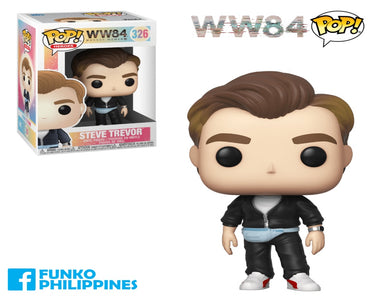 (Funko Pop) Pop WW 1984 Steve Trevor with Free Protector