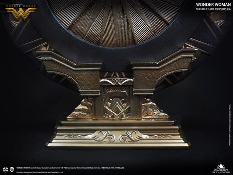 (Queen Studios) (Pre-Order) Wonder Woman Shield (Polystone or Metal Versions) - Deposit Only