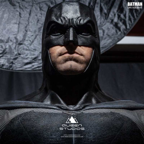Image of (Queen Studios) (Pre-Order) Batman Life Size Bust - Deposit Only