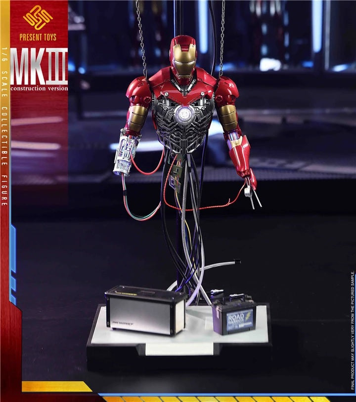 (PRESENT TOYS) (Pre-Order) PT-SP06 1/6 Collectible toy – MKIII construction Version - Deposit Only